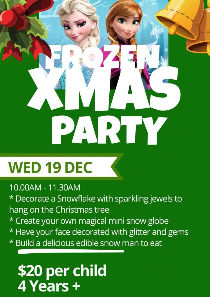 Kids Christmas Party Poster(1)