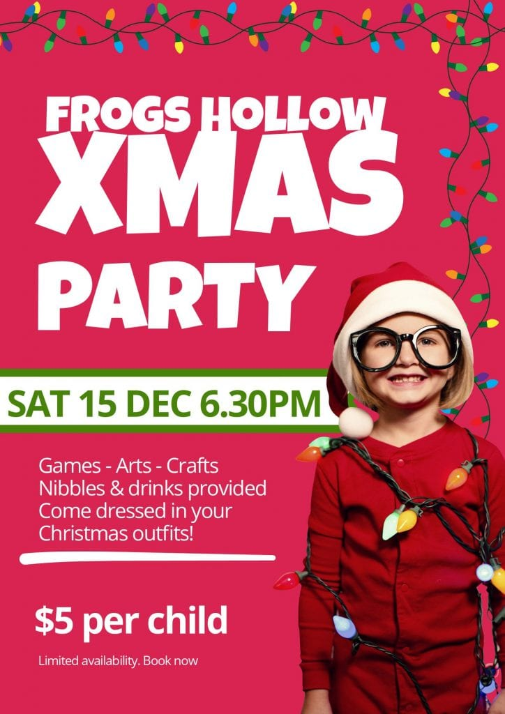 Kids Christmas Party Poster(3)