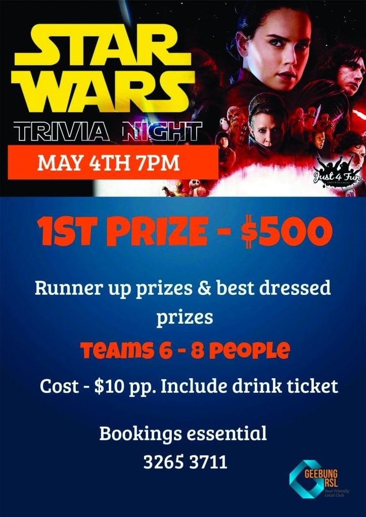 Star Wars Trivia Poster