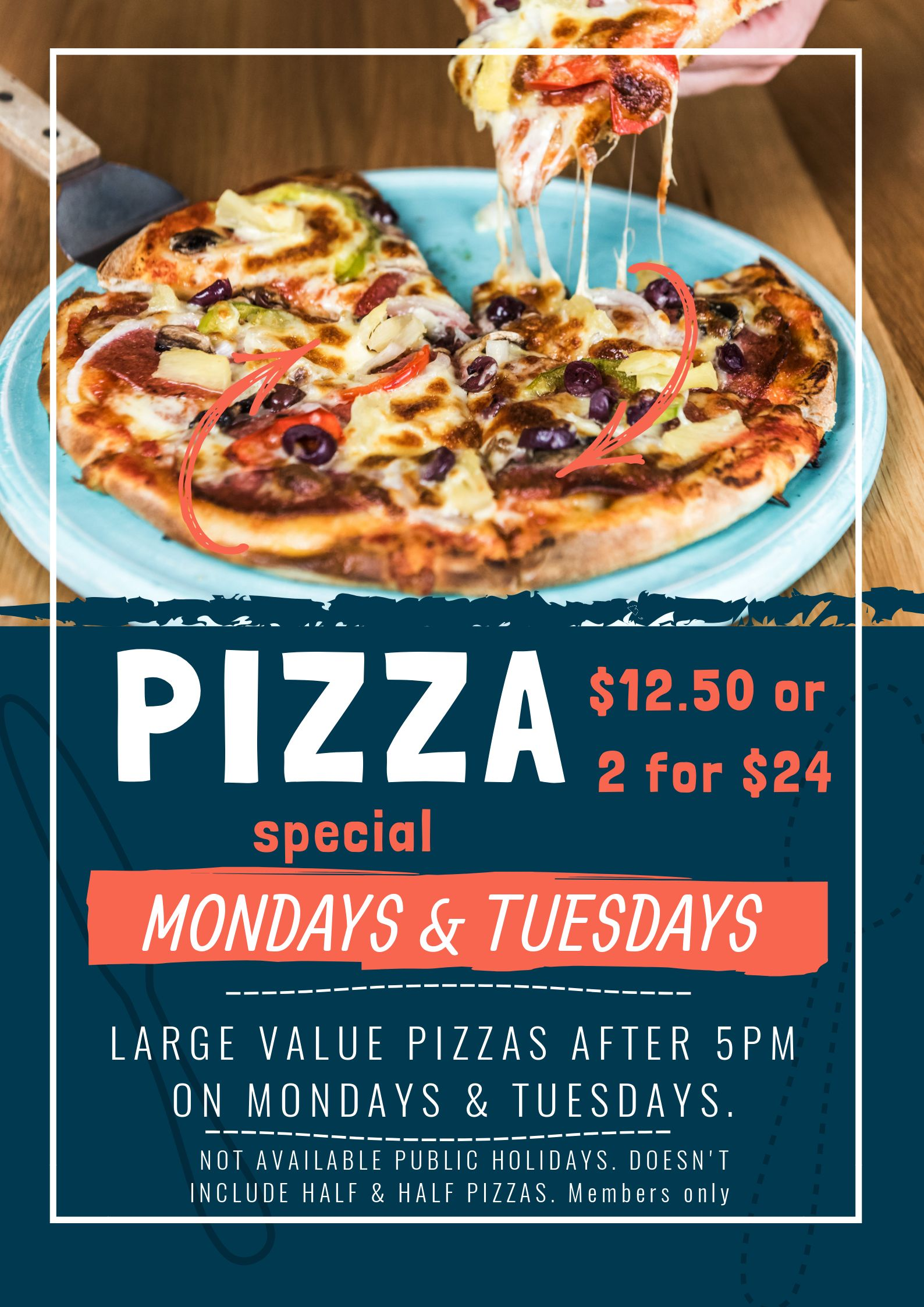Tuesday Night Pizza Poster (1)