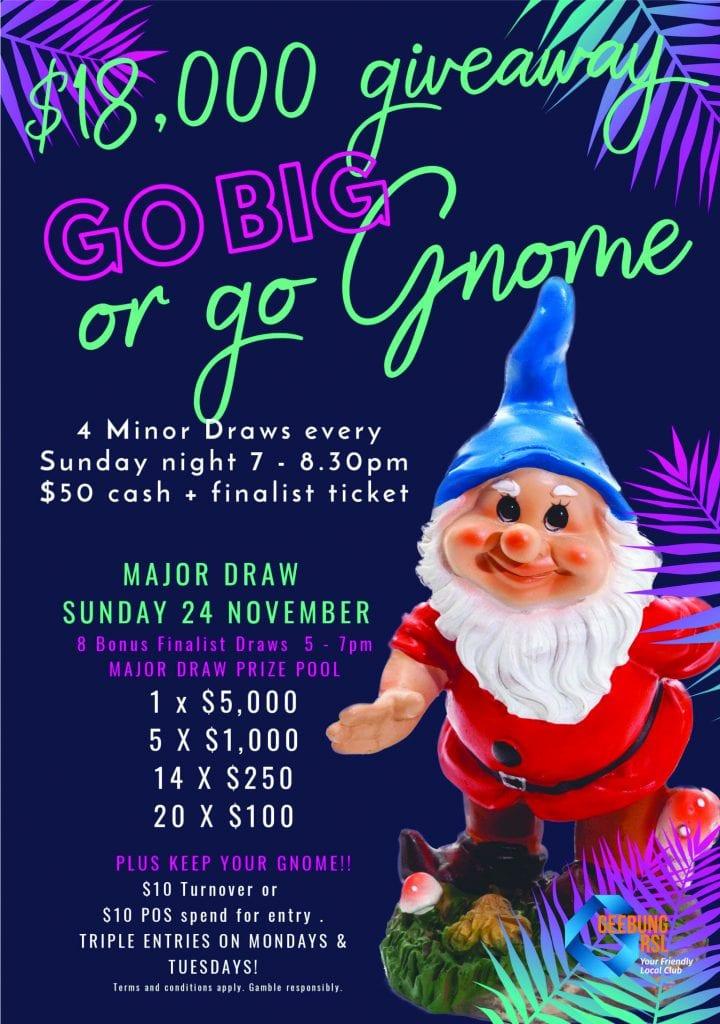 Go Big Or Go Gnome A1