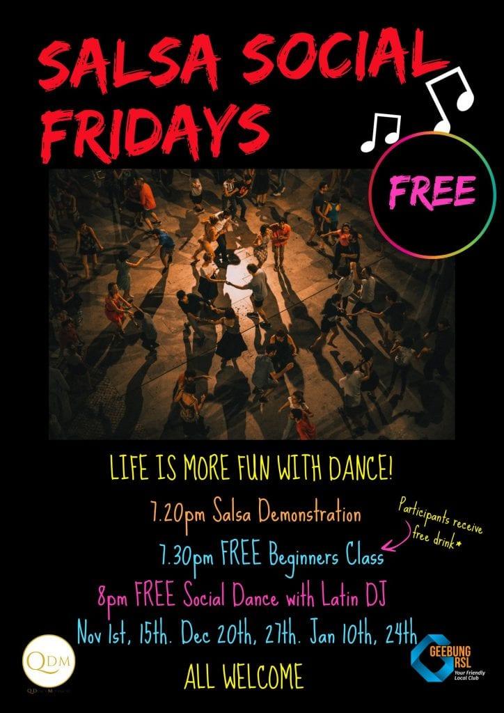 Salsa Social Fridays 1.