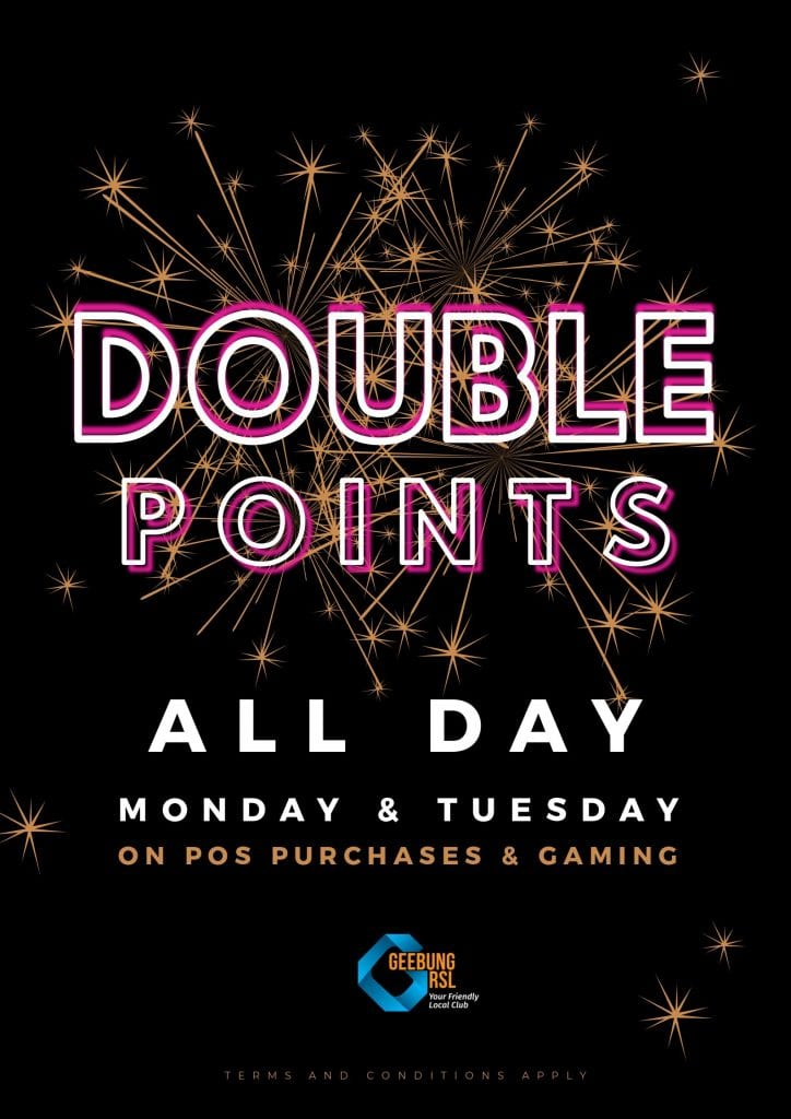Double Points Poster