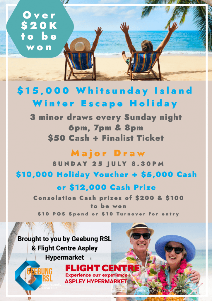 Whitsundays Winter Escape A3
